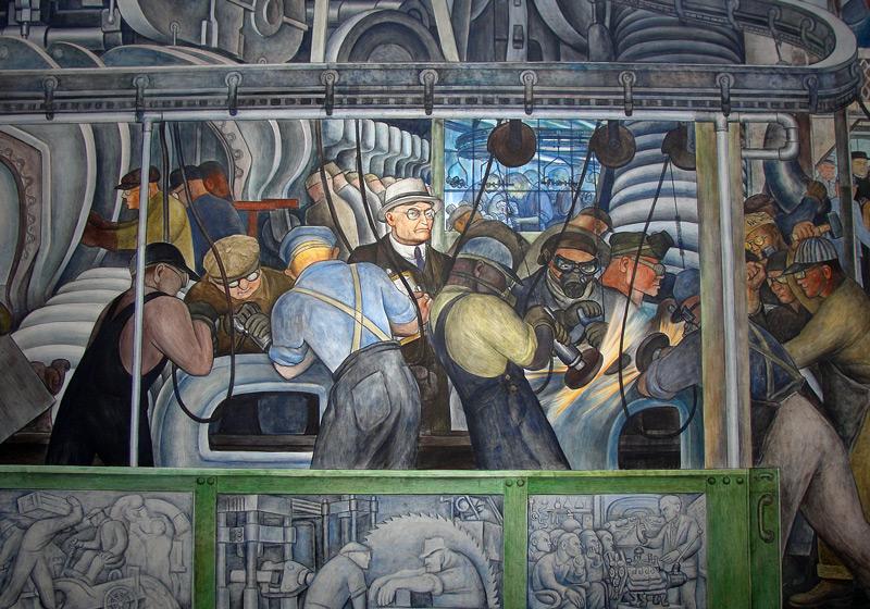 Resultado de imagen para obreros muralismo
