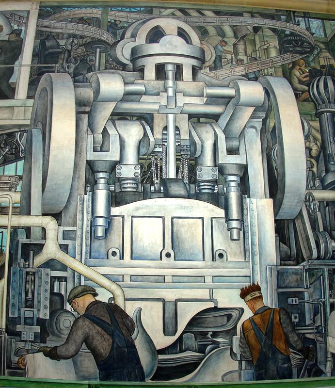 Diego Rivera Los Murales Industriales De Detroit Carlos Marentes
