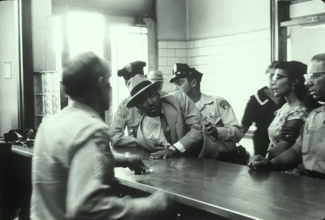 Dr. King arrested 1958 Montgomery